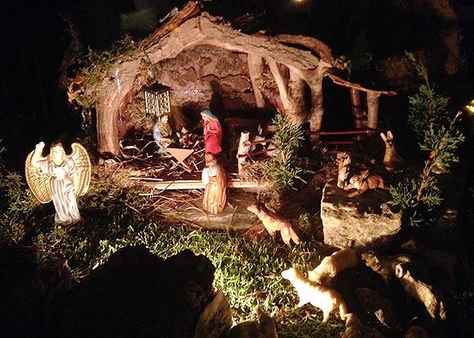 Hübsche Weihnachtsbilder.Leser Weihnachtsbilder 2 Krippen Bäume Und Plätzchen