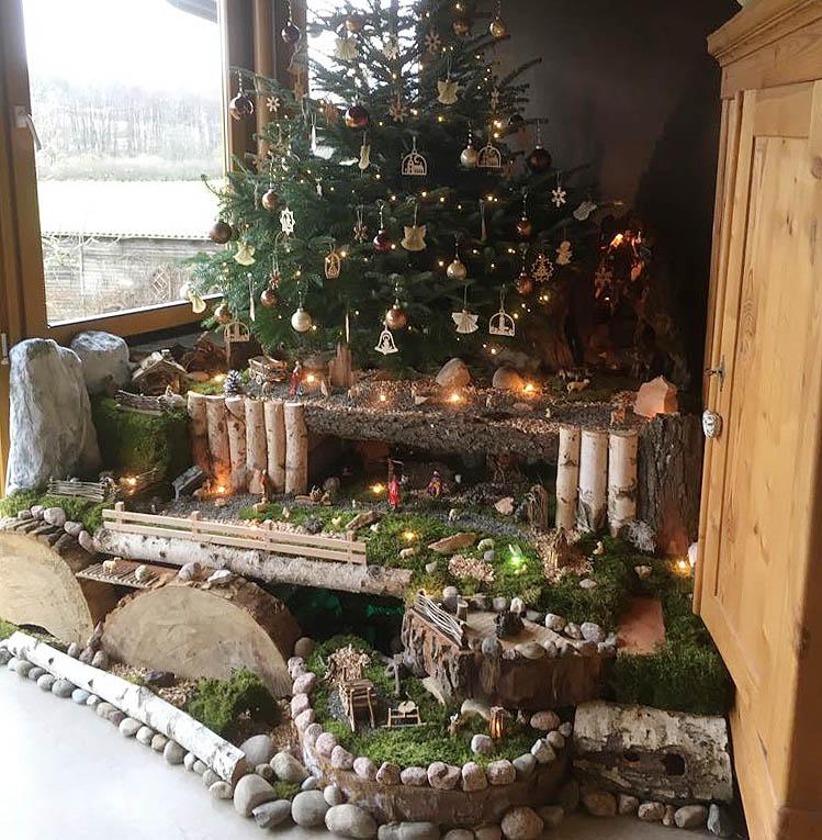 Weihnachtsbilder Suchen.Leser Weihnachtsbilder 3 Krippen Bäume Und Eine Katze